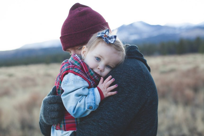 hug from dad
